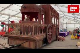 Así son las carrozas de la Cabalgata de los Reyes Magos